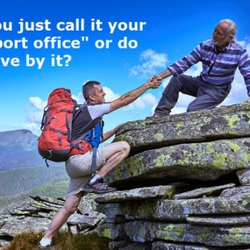 "Franchisors: Do you just call it your ""support office"" or do you live by it?"
